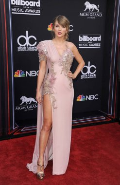 singer Taylor Swift at the 2018 Billboard Music Awards held at the MGM Grand Garden Arena in Las Vegas, USA on May 20, 2018.