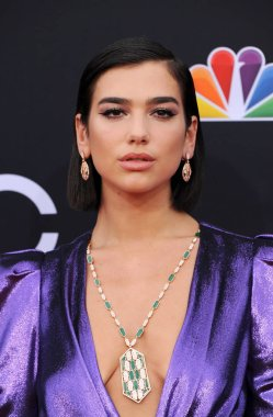 singer Dua Lipa at the 2018 Billboard Music Awards held at the MGM Grand Garden Arena in Las Vegas, USA on May 20, 2018.