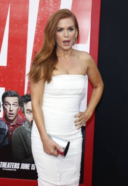 actress Isla Fisher at the Los Angeles premiere of 'Tag' held at the Regency Village Theatre in Westwood, USA on June 7, 2018.