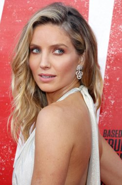 actress Annabelle Wallis at the Los Angeles premiere of 'Tag' held at the Regency Village Theatre in Westwood, USA on June 7, 2018.