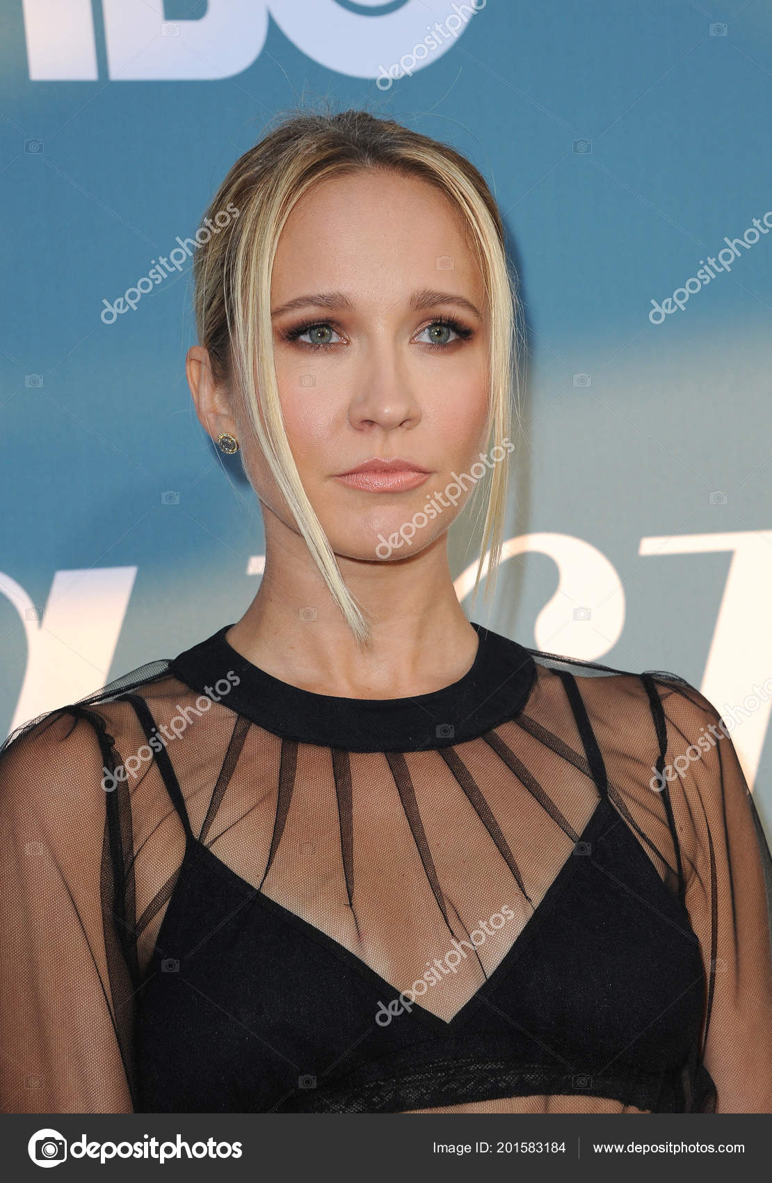 Actress Anna Camp Los Angeles Premiere Hbo Limited Series Sharp Stock Editorial Photo C Popularimages 201583184