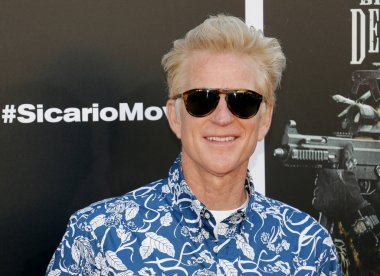 actor Matthew Modine at the Los Angeles premiere of 'Sicario: Day Of The Soldado' held at the Regency Village Theatre in Westwood, USA on June 26, 2018.
