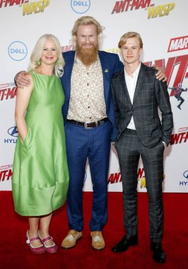 actor Rune Temte at the Los Angeles premiere of 'Ant-Man And The Wasp' held at the El Capitan Theatre in Hollywood, USA on June 25, 2018.