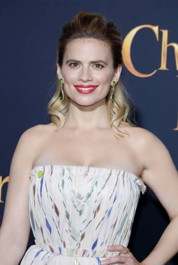 actress Hayley Atwell at the Los Angeles premiere of 'Christopher Robin' held at the Walt Disney Studios in Burbank, USA on July 30, 2018.