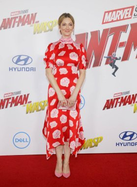 actress Judy Greer at the Los Angeles premiere of 'Ant-Man And The Wasp' held at the El Capitan Theatre in Hollywood, USA on June 25, 2018.