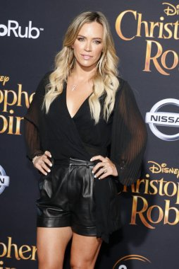Teddi Mellencamp at the Los Angeles premiere of 'Christopher Robin' held at the Walt Disney Studios in Burbank, USA on July 30, 2018.