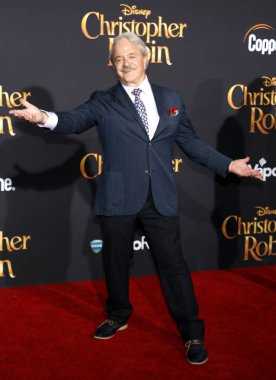 actor Jim Cummings at the Los Angeles premiere of 'Christopher Robin' held at the Walt Disney Studios in Burbank, USA on July 30, 2018.
