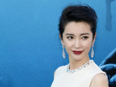 actress Li Bingbing at the Los Angeles premiere of 'The Meg' held at the TCL Chinese Theatre IMAX in Hollywood, USA on August 6, 2018.