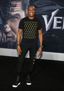 athlete Anderson Silva at the Los Angeles premiere of 'Venom' held at the Regency Village Theatre in Westwood, USA on October 1, 2018.