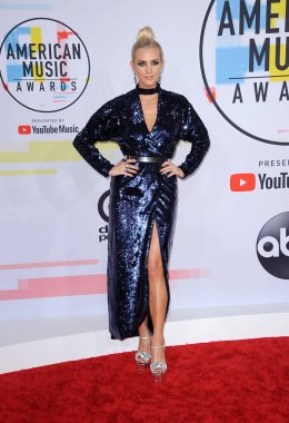 Ashlee Simpson at the 2018 American Music Awards held at the Microsoft Theater in Los Angeles, USA on October 9, 2018.