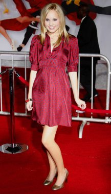 actress Meaghan Martin at the Los Angeles premiere of 'High School Musical 3: Senior Year' held at the Galen Center in Los Angeles, USA on October 16, 2008.