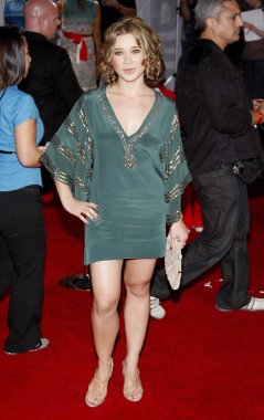 actress Olesya Rulin at the Los Angeles premiere of 'High School Musical 3: Senior Year' held at the Galen Center in Los Angeles, California, United States on October 16, 2008.