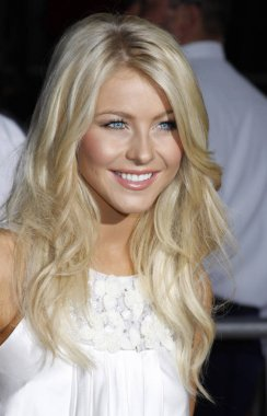 dancer Julianne Hough at the Los Angeles premiere of 'High School Musical 3: Senior Year' held at the Galen Center in Los Angeles, California, United States on October 16, 2008.