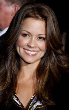 TV host Brooke Burke at the Los Angeles premiere of 'High School Musical 3: Senior Year' held at the Galen Center in Los Angeles, California, United States on October 16, 2008.