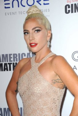 Lady Gaga at the 32nd American Cinematheque Award Presentation Honoring Bradley Cooper held at the Beverly Hilton Hotel in Beverly Hills, USA on November 29, 2018.