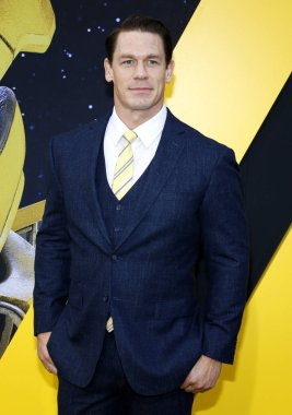 actor John Cena at the World premiere of 'Bumblebee' held at the TCL Chinese Theatre IMAX in Hollywood, USA on December 9, 2018.