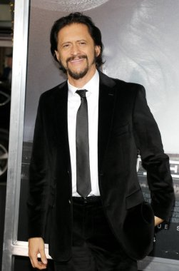 actor Clifton Collins Jr. at the World premiere of 'The Mule' held at the Regency Village Theatre in Westwood, USA on December 10, 2018.