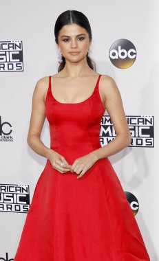 singer Selena Gomez at the 2016 American Music Awards held at the Microsoft Theater in Los Angeles, USA on November 20, 2016.