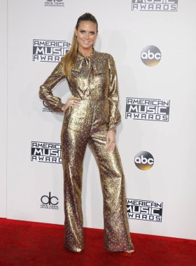 model Heidi Klum at the 2016 American Music Awards held at the Microsoft Theater in Los Angeles, USA on November 20, 2016.