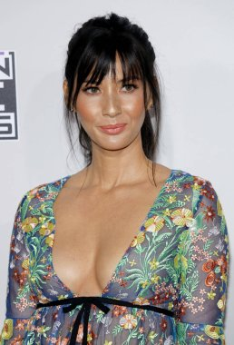 actress Olivia Munn at the 2016 American Music Awards held at the Microsoft Theater in Los Angeles, USA on November 20, 2016.