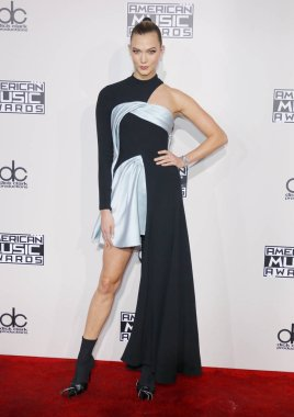 model Karlie Kloss at the 2016 American Music Awards held at the Microsoft Theater in Los Angeles, USA on November 20, 2016.