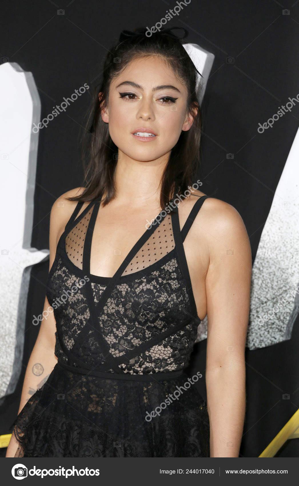 Actress Rosa Salazar Los Angeles Premiere Alita Battle Angel Held Stock Editorial Photo C Popularimages 244017040