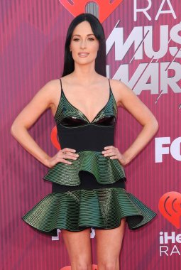singer Kacey Musgraves at the 2019 iHeartRadio Music Awards held at the Microsoft Theater in Los Angeles, USA on March 14, 2019.