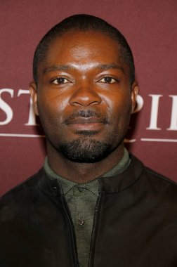 actor David Oyelowo at the 'Les Miserables' Photo Call held at the Linwood Dunn Theater in Hollywood, USA on June 8, 2019.