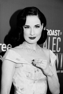 vedette Dita Von Teese at the Comedy Central Roast of Alec Baldwin held at the Saban Theatre in Beverly Hills, USA on September 7, 2019.