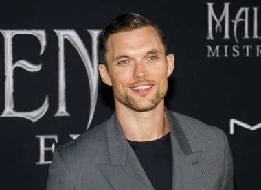 actor Ed Skrein at the World premiere of Disney's 'Maleficent: Mistress Of Evil' held at the El Capitan Theatre in Hollywood, USA on September 30, 2019.