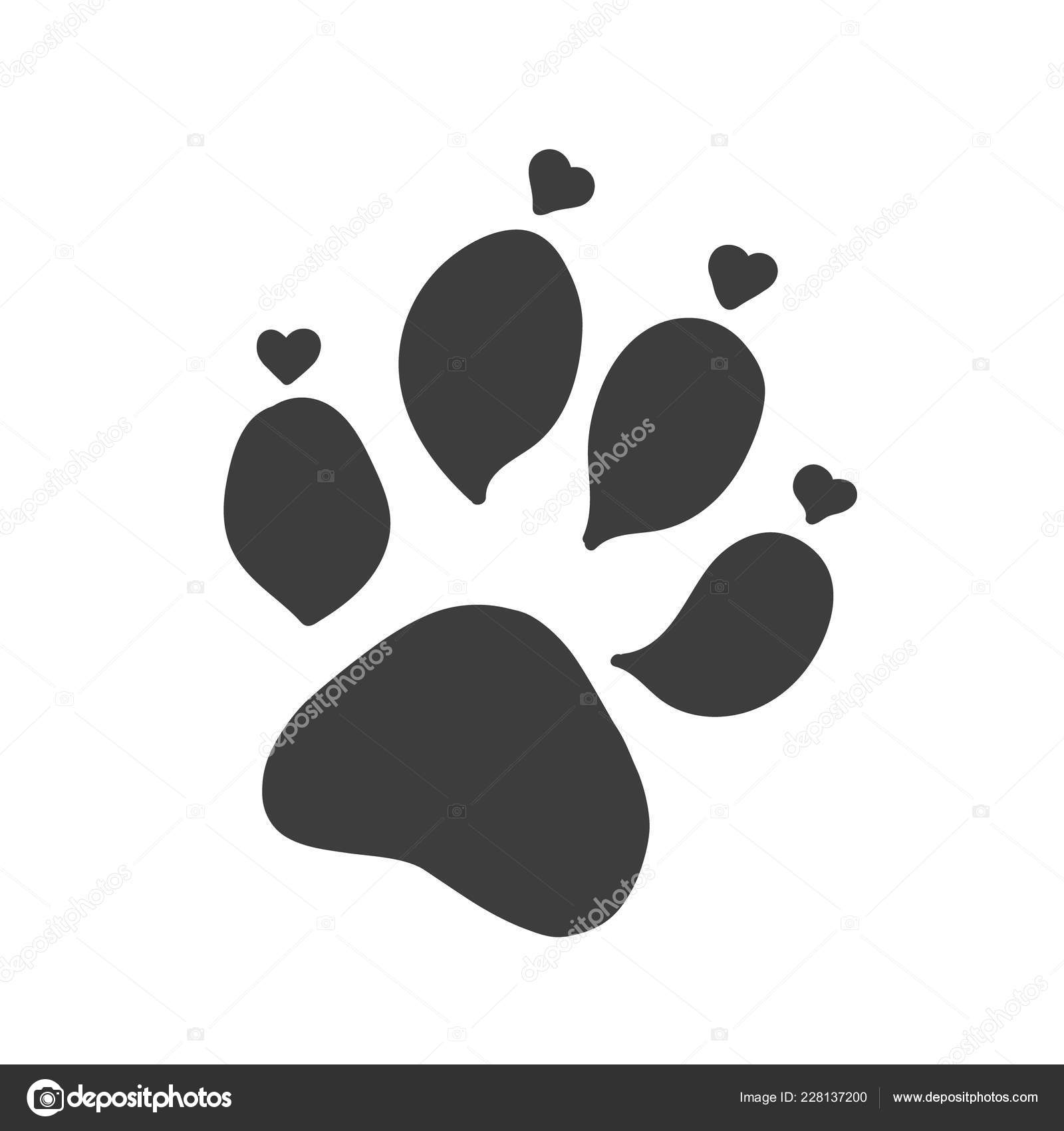 Pictures : cat paw print tattoo | Cat or dog paw print