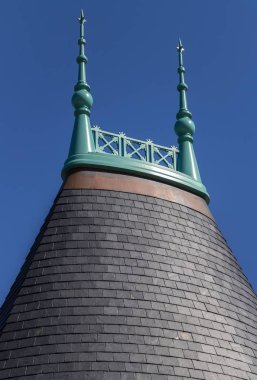The dome of the castle