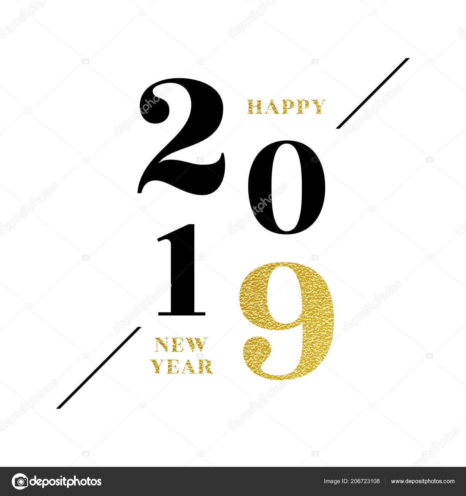 Sfondi di buon anno 2019