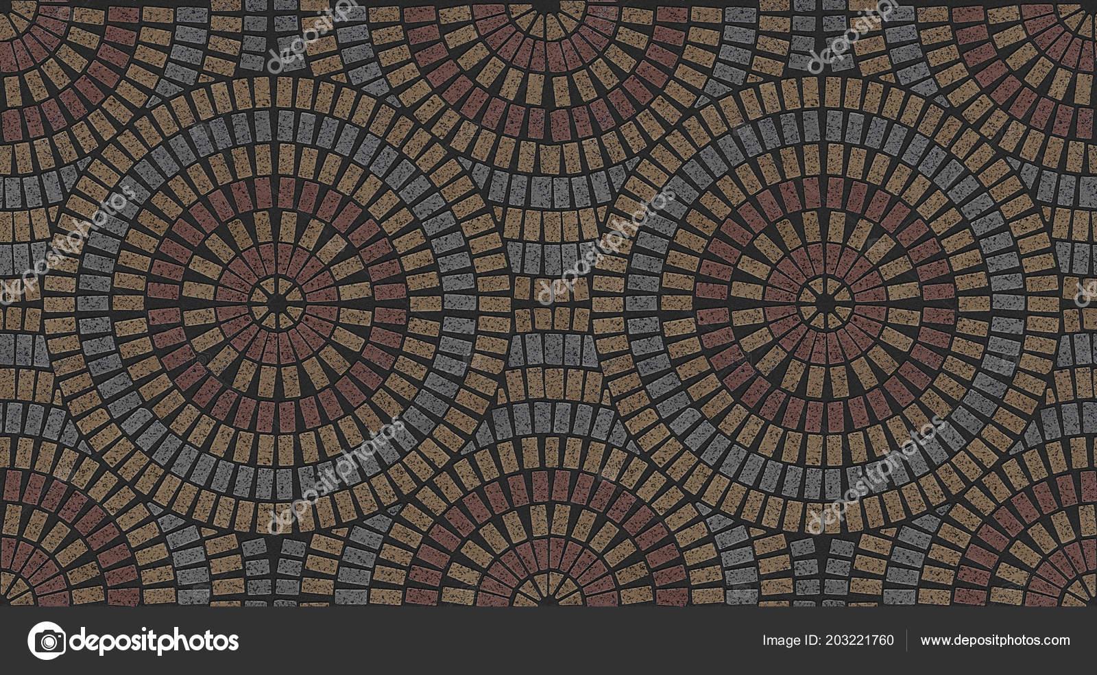 Granite Tile Ornate Paving Stones Seamless Variegated Texture Stock Photo C Threedicube 203221760