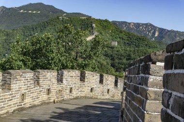 camminare sulla Grande Muraglia Cinese