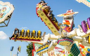 Amusement park in Vienna