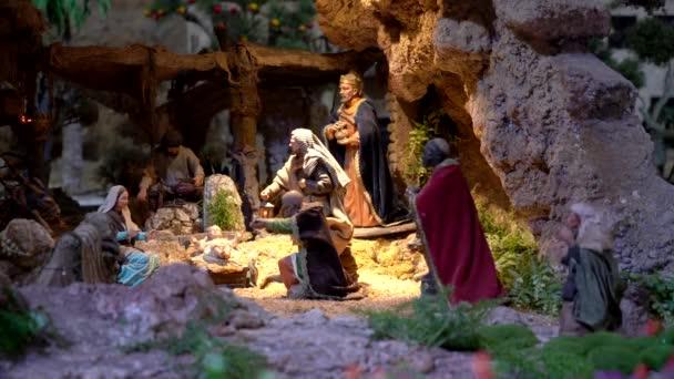 Největší animovaný Betlém v Jižní Americe. Magi dorazí chválit Ježíše.