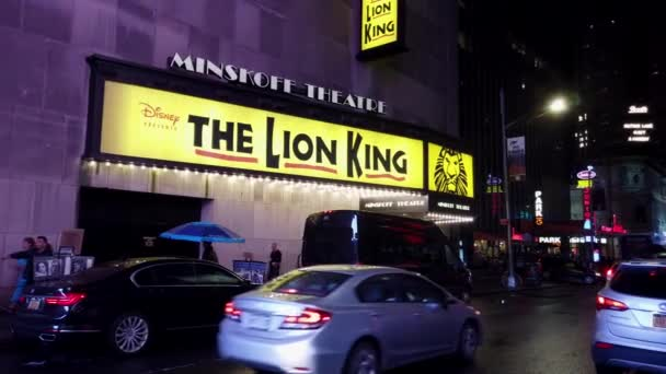 New York City, New York - 2019-05-08 - Broadway 3 Lion King Theater Marquee