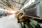Fotografie Tovární Výroba kovových částí, které jsou vybavené cnc stroji