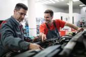 Automechaniky spolupracují na automobilový servis
