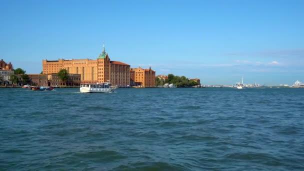 Bellissima vista di Venezia. Isola della Giudecca. Gradn canal. Regione Veneto. Italia