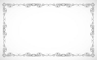 Frame for design drawn in vector illustration eps 10.