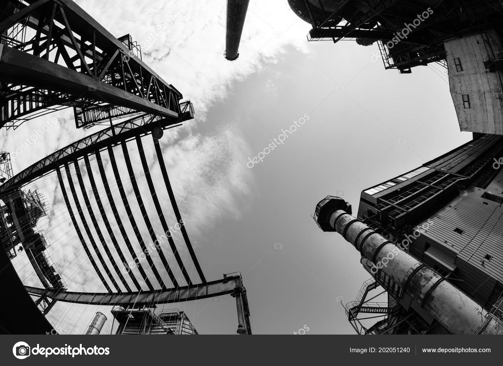 Abandoned Buildings Dolni Vitkovice Industrial Area Ostrava Czech Republic Stock Photo C Vidumg 202051240