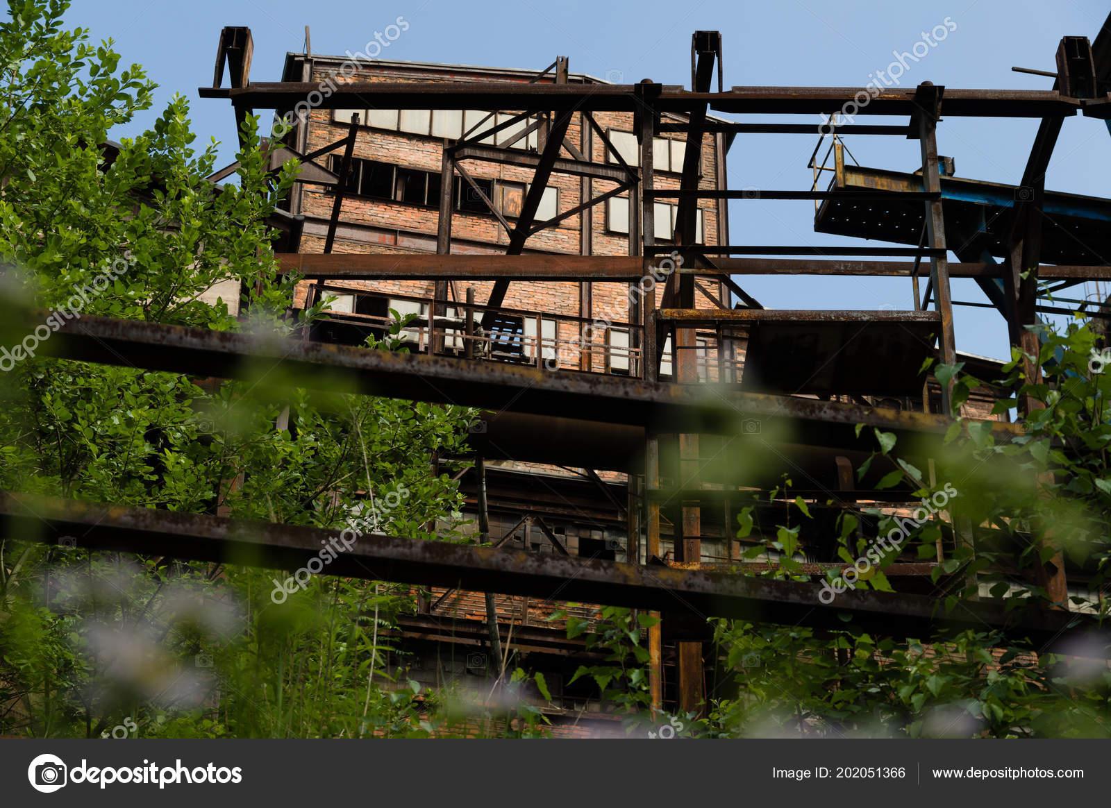Abandoned Building Dolni Vitkovice Industrial Area Ostrava Czech Republic Stock Photo C Vidumg 202051366