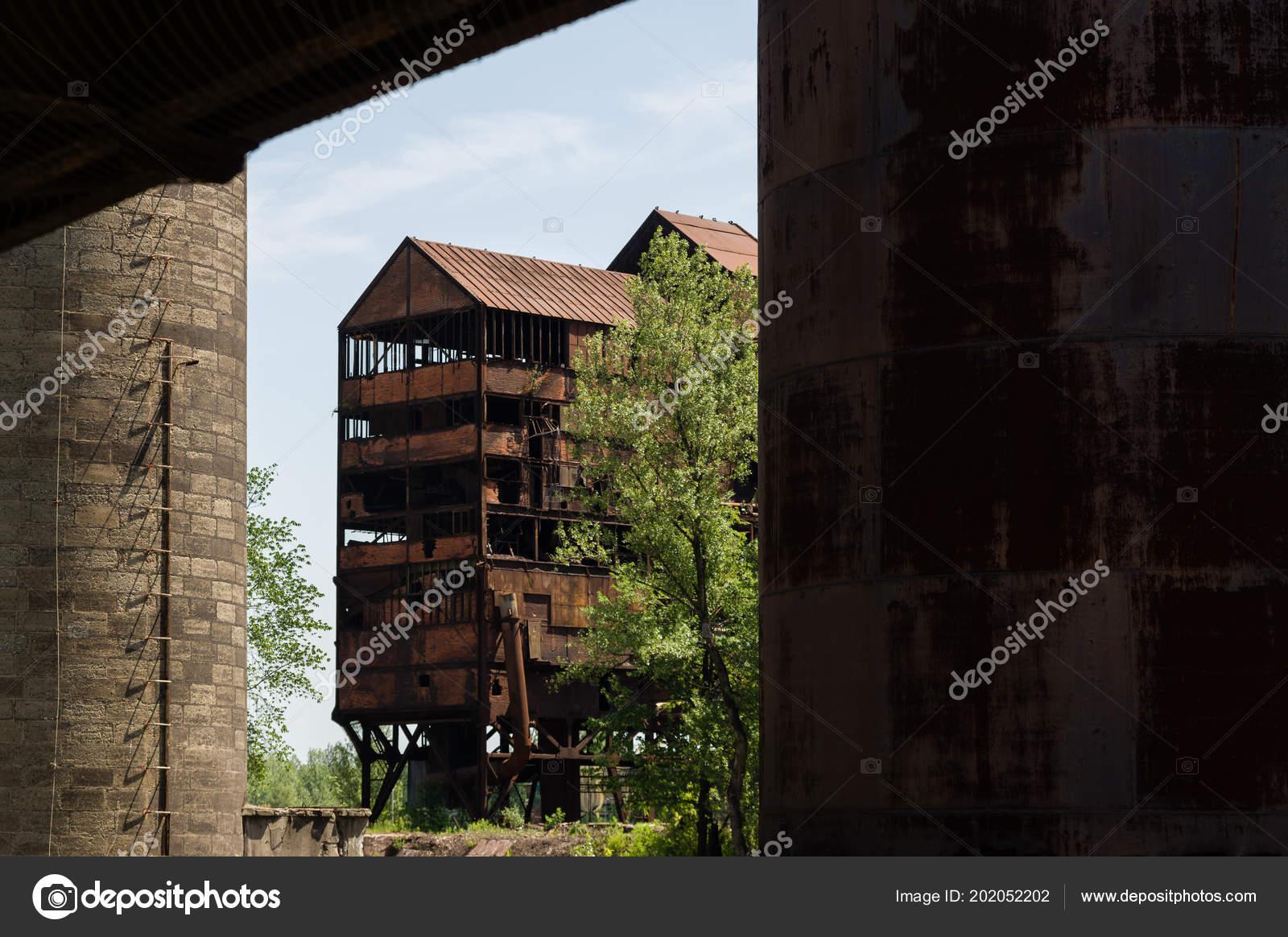 Abandoned Buildings Dolni Vitkovice Industrial Area Ostrava Czech Republic Stock Photo C Vidumg 202052202