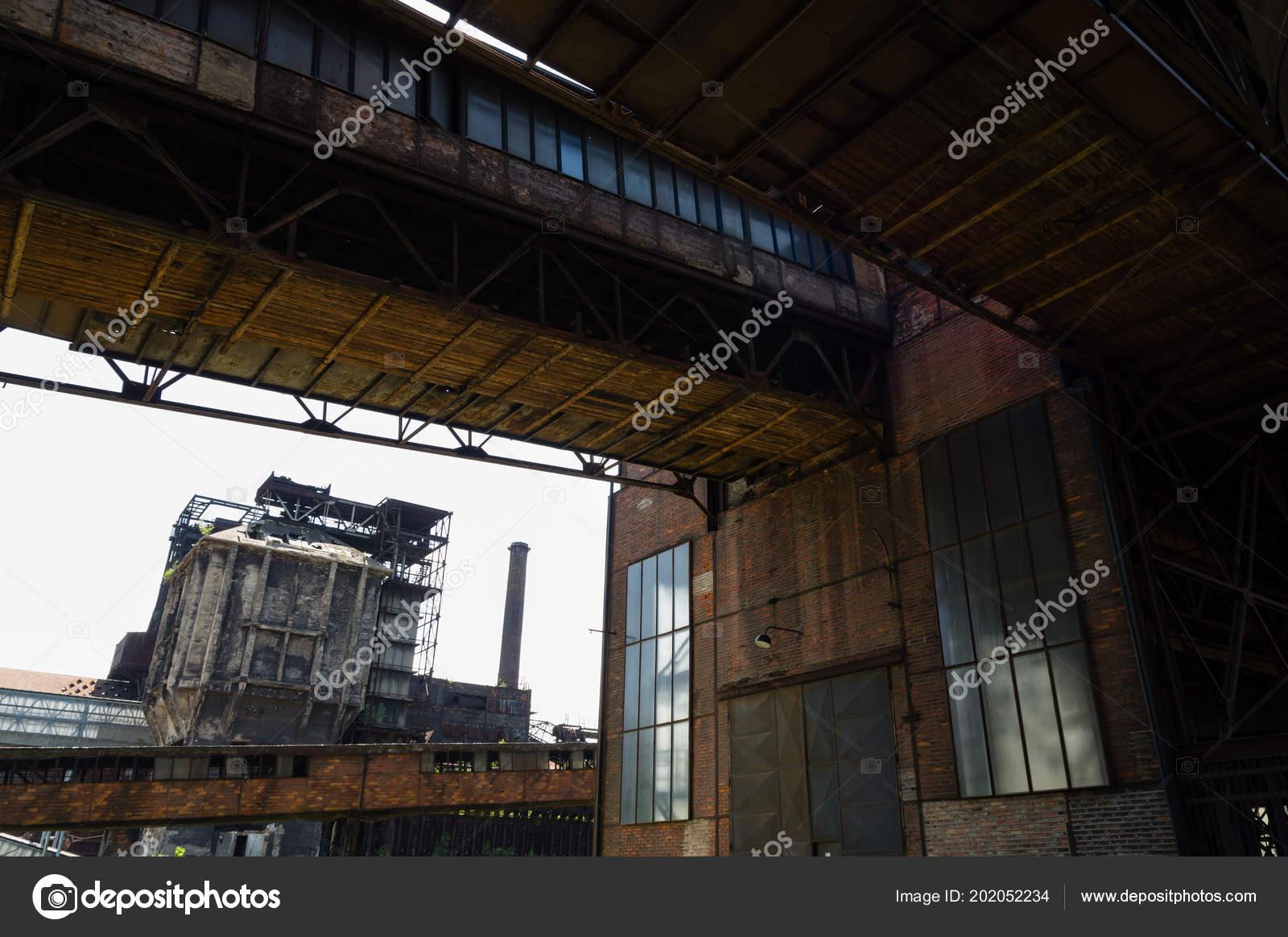 Abandoned Buildings Dolni Vitkovice Industrial Area Ostrava Czech Republic Stock Photo C Vidumg 202052234