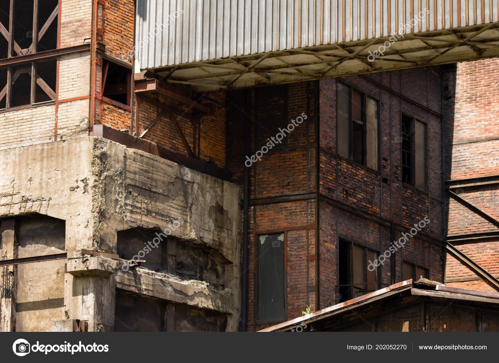 Abandoned Buildings Dolni Vitkovice Industrial Area Ostrava Czech Republic Stock Photo C Vidumg 202052270