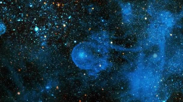 CW Leo Galaxies v kosmickém prostoru ukazuje krásu vesmírného průzkumu. Runaway hvězda být pozorován s Galaxy Evolution Explorer. 3D vykreslování 4K.