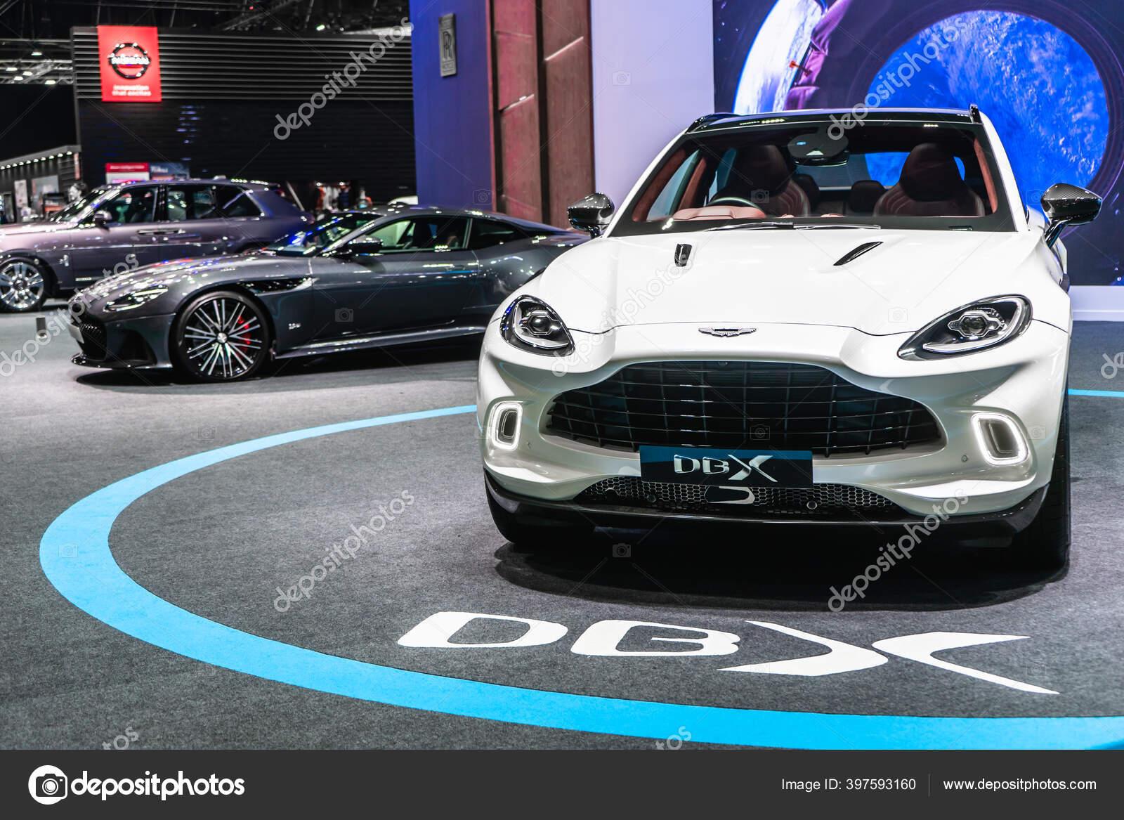Bangkok Thailand August 2020 White Color Aston Martin Dbx Luxury Stock Editorial Photo Ezthaiphoto 397593160