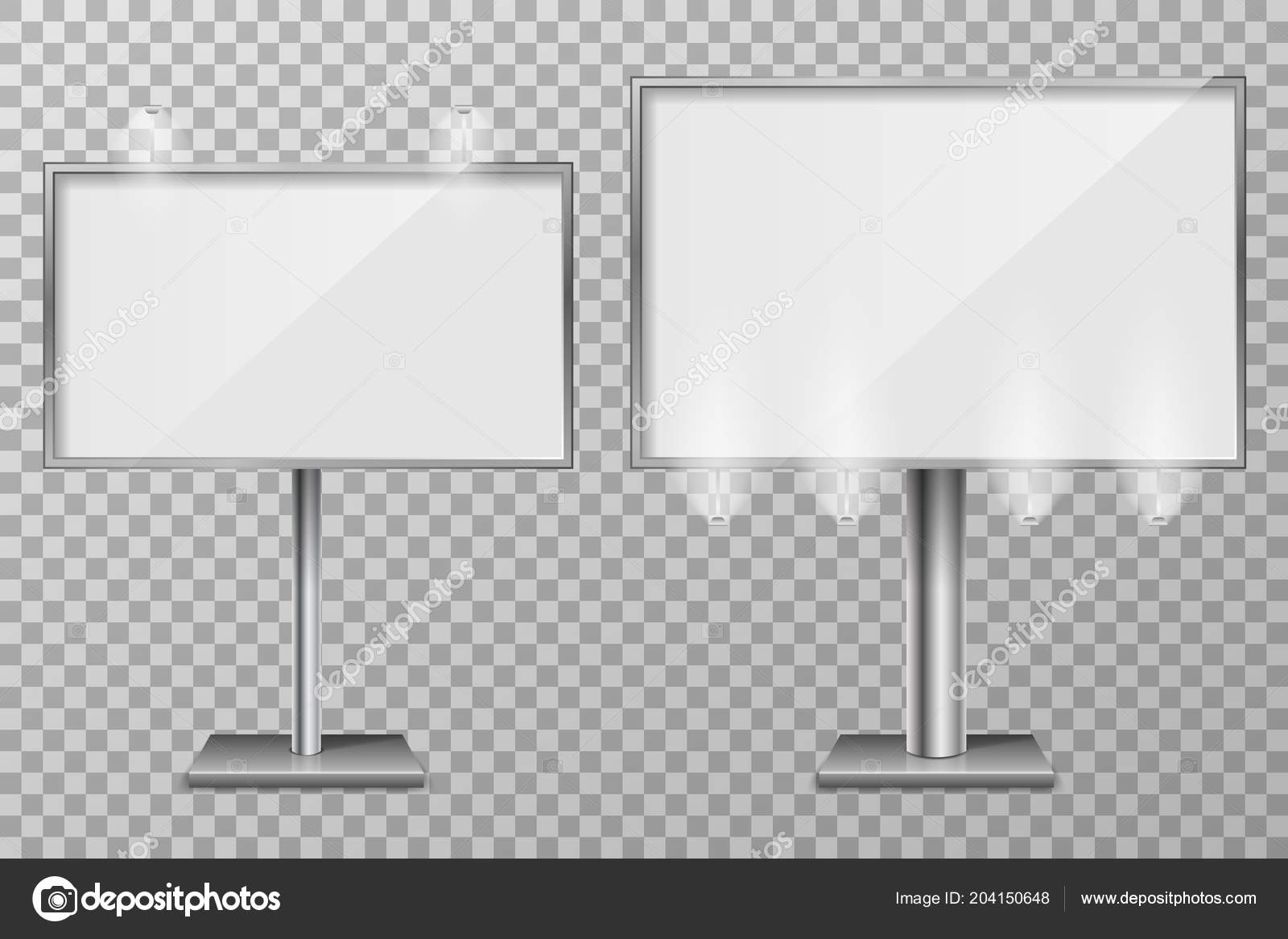 Billboard Template Design For Outdoor Advertising And Design